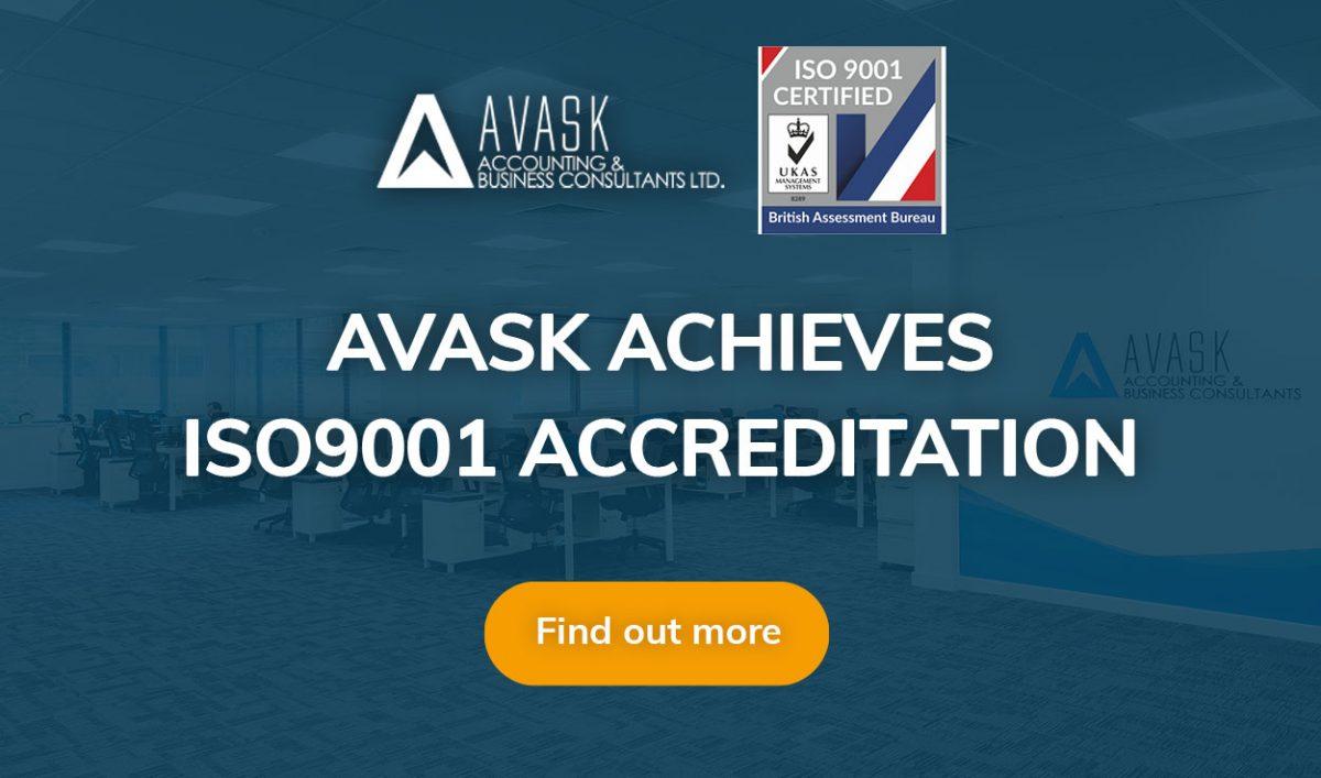 AVASK achieves ISO9001 accreditation