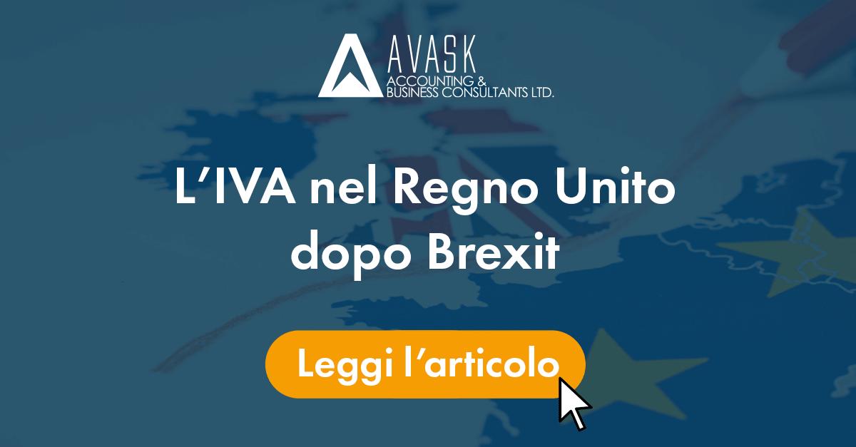IVA nel Regno Unito dopo Brexit