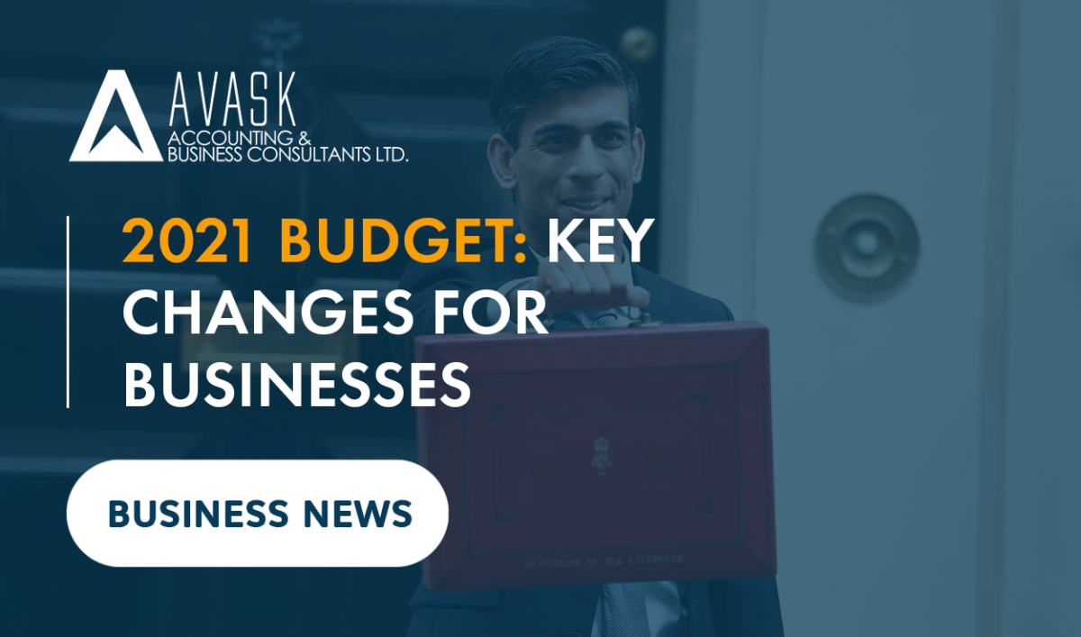 2021 Budget key changes for businesses