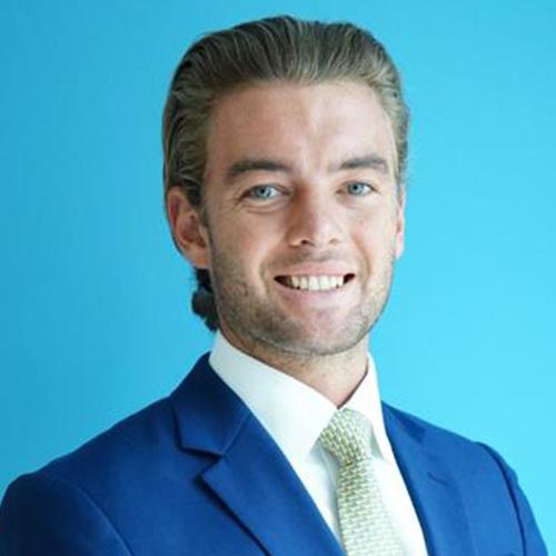 International Business Development Officer Piers Eveleigh