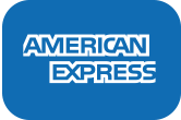 AVASK accepts American Express Credit and Charge Cards